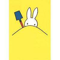 ポストカード ミッフィー ディック・ブルーナ「砂遊びをするミッフィー」